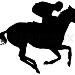 1854258-silhouette-horse-on-white-background